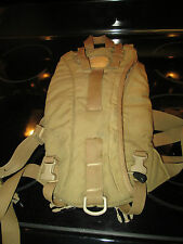 USMC COYOTE BROWN TACTICAL 3L HYDRATION SYSTEM CARRIER USGI MILITARY ISSUE VGC
