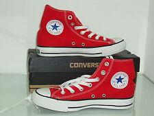 scarpe converse all star HI  uomo - donna  rosso red
