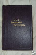 L.D.S BIOGRAPHICAL ENCYCLOPEDIA Mormon Book of 1936 V 4