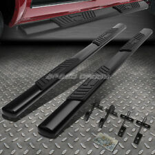 "FOR 04-08 FORD F150 SUPERCREW CAB 5"" BLACK OVAL SIDE STEP NERF BAR RUNNING BOARD"