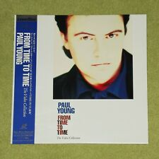 PAUL YOUNG From Time To Time: The Video Collection - RARE JAPAN LASERDISC + OBI