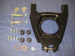 MG MIDGET AUSTIN HEALEY SPRITE WISHBONE PAN + FULCRUM PIN AND FITTING KIT