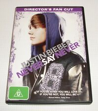 DVD - Justin Bieber - Never Say Never - Director's Fan Cut