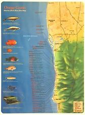 """Scuba Dive Locations and Site Information Slate for Orange County 6.5"""" x 8.5"""""""