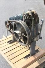 Dayton 3z172 Air Compressor Pump With 3n071 3 Phase 75hp Motor No Tank