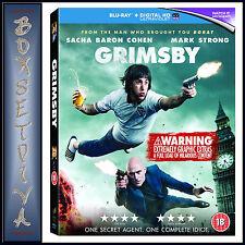 GRIMSBY - Sacha Baron Cohen  **BRAND NEW BLURAY**
