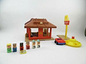 Vintage Playskool McDonald's Restaurant Playset