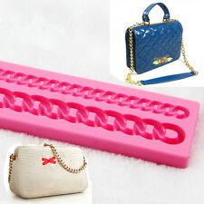 Bag Chain Fondant Cake Molds Soap Chocolate Mould For The Baking Cake Decoration