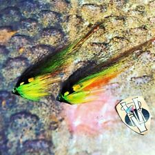 2 V Fly Stor Lax Aaroy Hargreaves Greenlander TC Salmon Tube Flies & Hooks