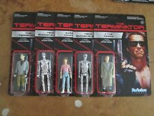 Terminator Set T-800 Retro Action Figure Funko ReAction Unpunched (5) Arnold NEW