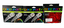 Bike Party Bicycle Spoke LED Lights Multi Morphing Color Set of 2 + Rope Lights