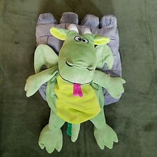 Happy Nappers Perfect Play Pillow Green Dragon Castle Fantasy Sleepaid Childrens