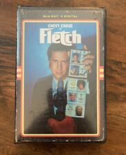 New! Fletch (Blu-ray+Digital) Special Collector 80's Vhs Packaging