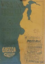 Neal Cassidy Memorium Vernal Equinox in Big Sur - Original *Rare 1968 Poster