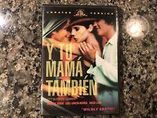 Y Tu Mama Tambien Dvd. 2001 Drama/Comedy.