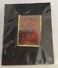 Starbucks Japan Colombia Narino Supremo Old Design Coffee Stamp Sticker Pin