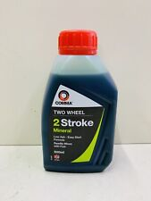 2 STROKE MINERAL ENGINE OIL 500ML TOP QUALITY FOR BIKES LAWNMOWERS UK