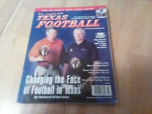 1999  Dave Campbell's Texas Football magazine MACK BROWN DENNIS FRANCHIONE