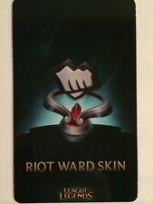 League of Legends LoL Fist Bump Riot Ward Skin Code EUW EU WEST