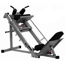 XMark Fitness XM7616 Leg Press Hack Squat Lower Body Strength Build Tone Machine