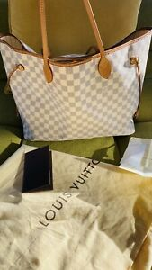 Louis Vuitton Neverfull GM Bag Damier Azur (Currently Out Of Stock in LV)receipt