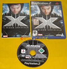 X-MEN IL GIOCO UFFICIALE 1 Ps2 Versione Ufficiale Italiana 1ª Ed XMen » COMPLETO