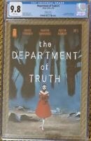 THE DEPARTMENT OF TRUTH 1 CGC 9.8 DELL'EDERA 1:100 VARIANT 🔥 🔥