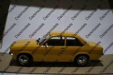 KK Scale Opel Kadett 2 Door Saloon Orange 1:18 scale