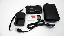 Sony Cyber-Shot DSC-H55 14.1MP Digital Camera & 4GB SD Card/Battery/Charger/Case