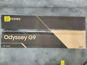 """Samsung Odyssey G9 95T 49"""" QLED Curved Gaming Monitor - White"""