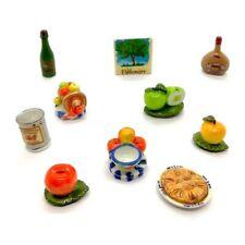 Fèves de collection en porcelaine _ Autour de la pomme   _ Série complète 10 Fev