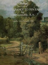 'THE ENTRANCE TO FEN LANE' by JOHN CONSTABLE AUCTION CATALOGUE