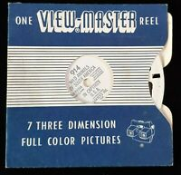 Vintage Viewmaster - Sawyer's Reel 914 Wild Animals of South America, Captive US