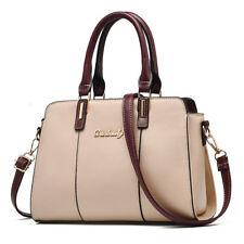 Women Leather Handbag Shoulder Messenger Satchel Crossbody Ladies Tote Bag Purse
