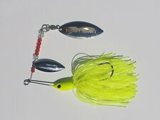 CHARTREUSE SPINNERBAIT SPINNER fishing lure for pike perch bass 20g (0.5oz)