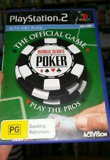 World Series Poker (no booklet) - PLAYSTATION 2 PS2  - FREE POST