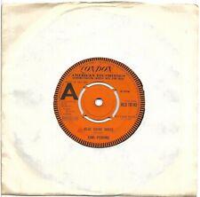 """CARL PERKINS London 45 RPM Demo 'BLUE SUEDE SHOES"""" 1968 Sun """"Matchbox"""" HLS 10192"""
