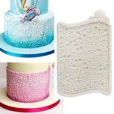 Pearl Bead Silicone Mould Cake Fondant Decorating Border Baking Mold Sugarcraft