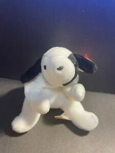 *RARE* Original Nine 1993 SPOT the Dog with *ERRORS* Ty Beanie Baby STYLE #4000