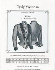 Schnittmuster Truly Victorian TV 466: 1887 Alexandra Bodice