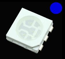 10 x Blue 5050 PLCC-6 SMD / SMT LED Chip