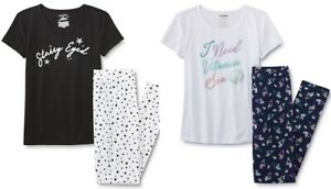 NEW Mermaid Pajamas Size Small, Medium, Large,XL Summer Top Pants Set Jrs Womens