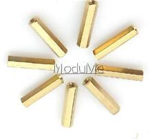 10PCS M3 12 mm Hexagonal net nut Female brass Standoff/Spacer MO
