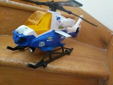 TONKA Mighty motorised RESCUE HELICOPTER 46cm Long (BLUE) w LIGHTS & SOUNDS,