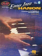 Easy Jazz Hanon Exercises For Beginner - Intermediate Pianist PIANO MUSIC BOOK