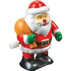 Clockwork Table Top Wind Up Santa Snowman Christmas Fun Desktop Stocking Filler