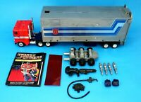 Transformers G1 Original Optimus Prime 100% Complete Metal Plates - Takara Japan