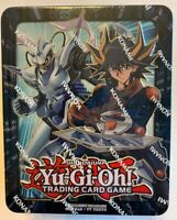 YuGiOh! 2018 Mega Tin Yusei English Edition Sealed - 3 Packs & 5 Promo Holos