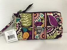 Vera Bradley With Tags Pushlock Wristlet in Ribbons