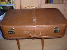 Alter Kunsteder Reise Koffer groß 80x47x20cm 50er/ 60er Jahre